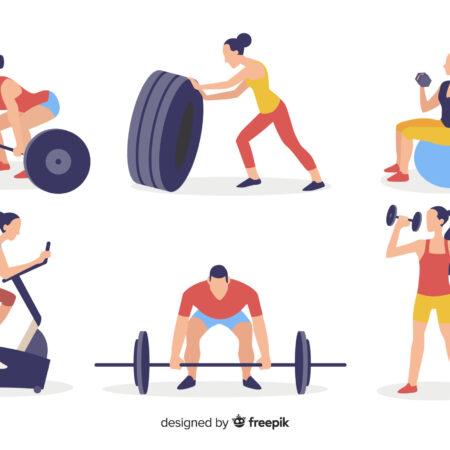 Actividades de musculación